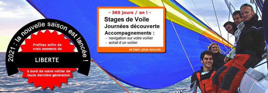 Stage de voile Voilier Morbihan